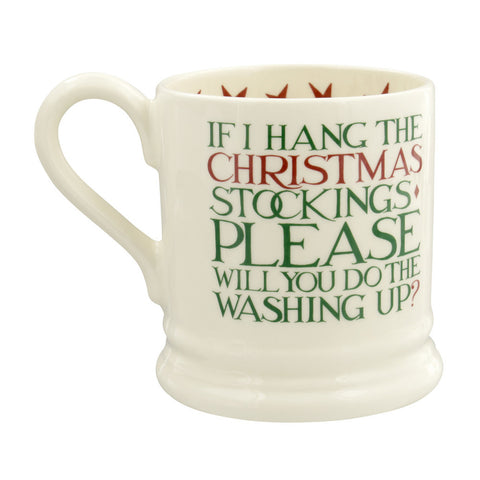 Christmas Toast 'Father Christmas' 1/2 Pint Mug