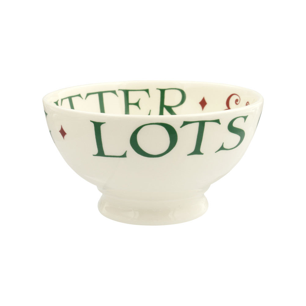 Christmas Toast French Bowl