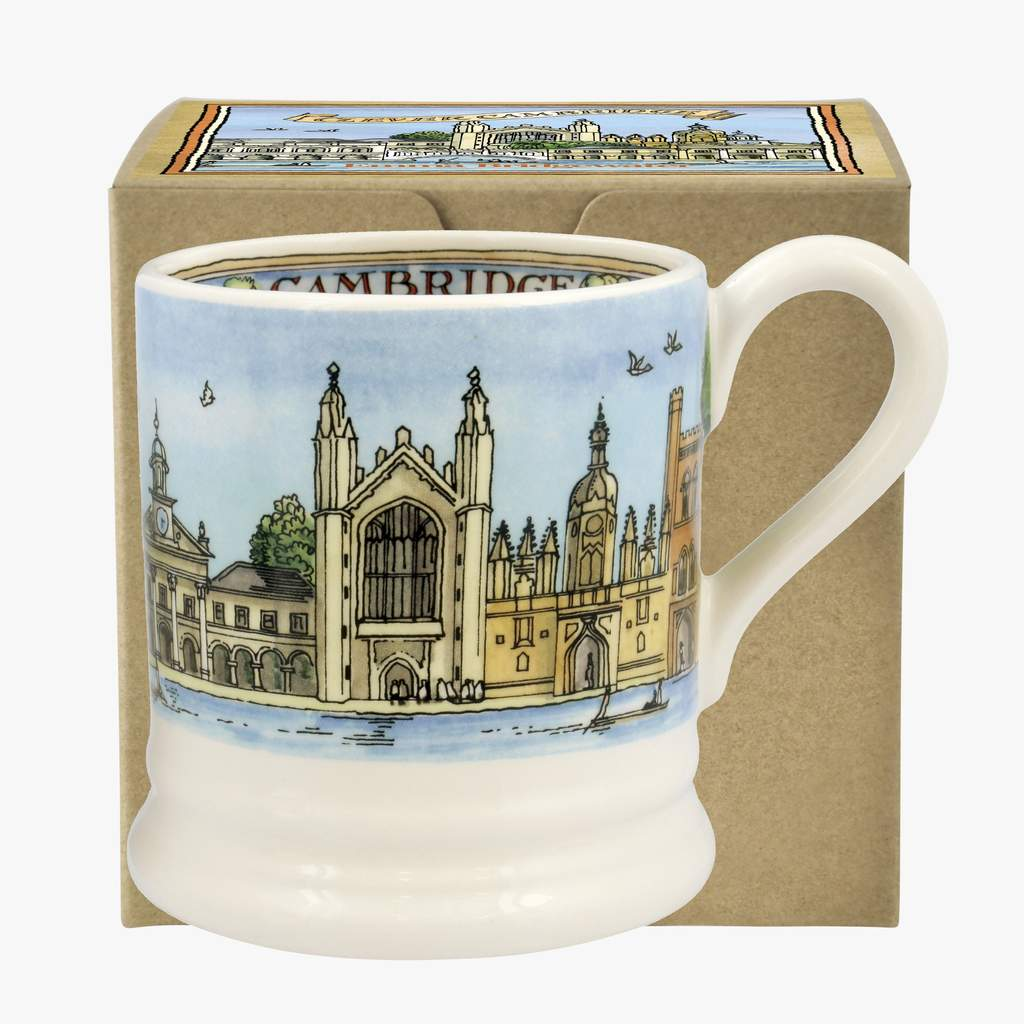 cadeauxwells - Cambridge 1/2 Pint Mug Boxed - Emma Bridgewater - Crockery