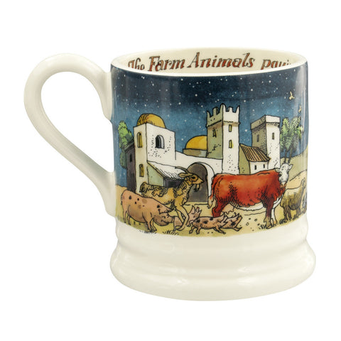 Nativity Scene 2019 1/2 Pint Mug