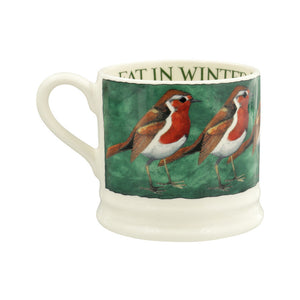 Robin on the Green Small Mug