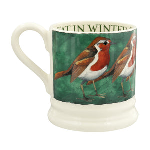 Robin on the Green 1/2 Pint Mug
