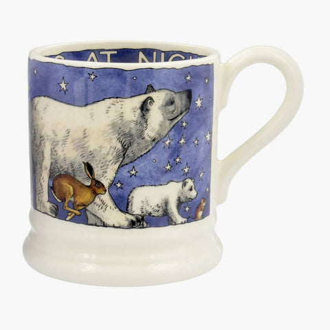 cadeauxwells - Winter Animals 1/2 Pint Mug - Emma Bridgewater - Crockery