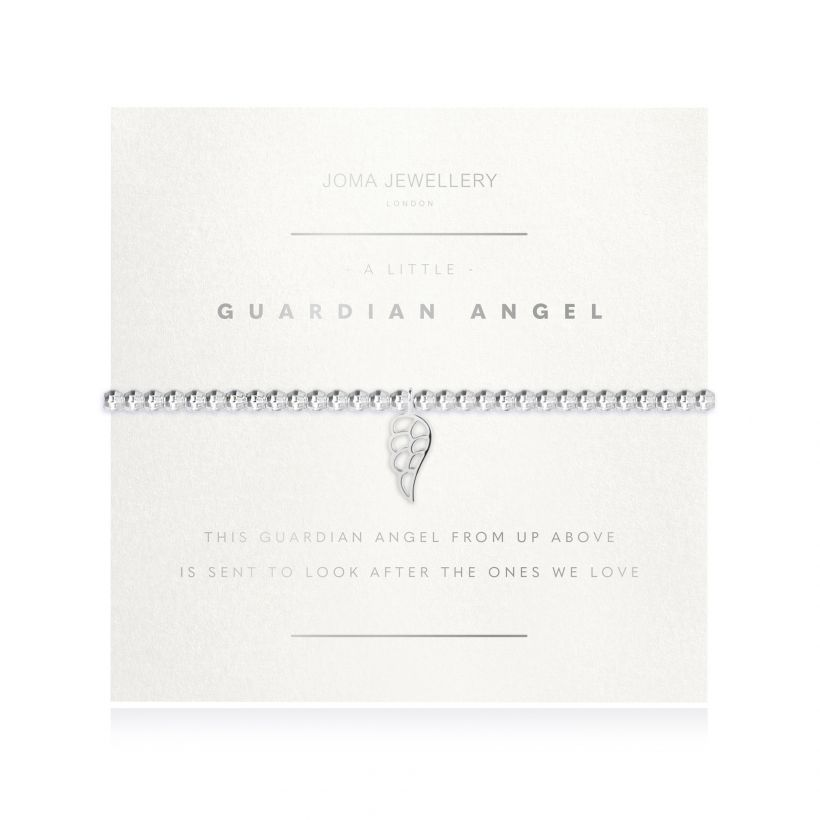 cadeauxwells - A Little Guardian Angel Facetted Bracelet - Joma Jewellery - Jewellery
