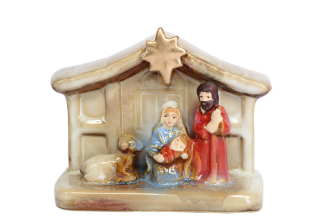 Small Ceramic Nativity