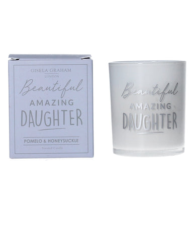 Daughter Mini Scented Boxed Candle in a Pot