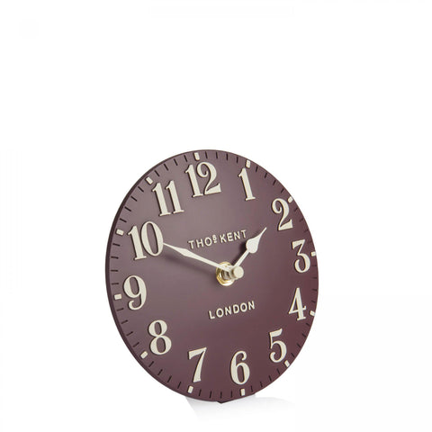 "cadeauxwells - 6"" Arabic Mantel Clock Berry - Art Marketing - Homewares"
