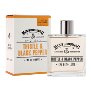 cadeauxwells - Thistle and Black Pepper Eau de Toilette - Scottish Fine Soaps - Perfumery