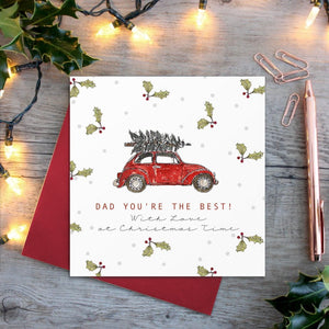 cadeauxwells - Dad You're the Best card - Toasted Crumpet - Seasonal Cards