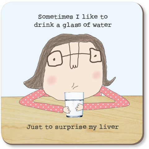 cadeauxwells - Surprise Liver Coaster - Rosie Made a Thing - Homewares