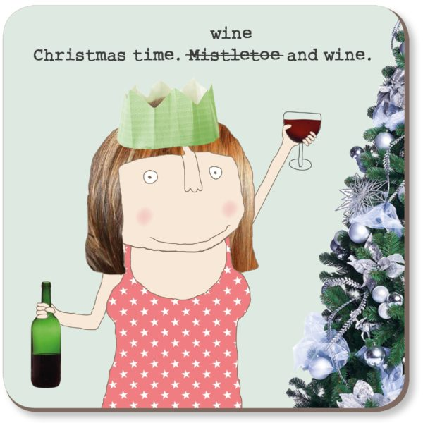 cadeauxwells - Wine & Wine Coaster - Rosie Made a Thing - Homewares