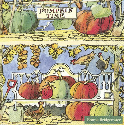 Cocktail Napkins – Pumpkin Time