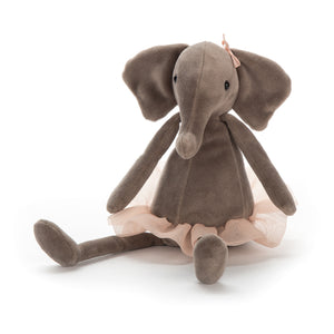 cadeauxwells - Dancing Darcy Elephant Small - Jellycat - Childrens