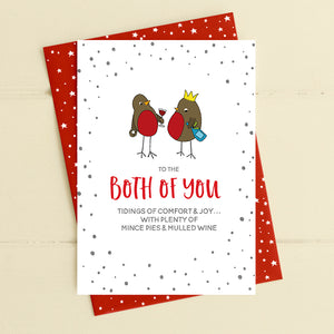 cadeauxwells - Both of you - tidings of comfort & joy - Dandelion Stationery - Seasonal Cards