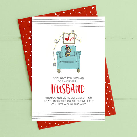 cadeauxwells - Husband - Dandelion Stationery - Seasonal Cards