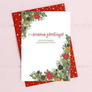 cadeauxwells - Seasons Greetings - Dandelion Stationery - Seasonal Cards