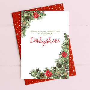 cadeauxwells - Sending festive love all the way from Somerset - Dandelion Stationery - Seasonal Cards