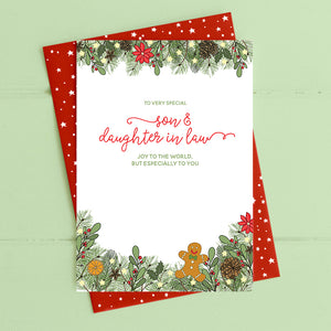 cadeauxwells - Son & Daughter in Law - Dandelion Stationery - Seasonal Cards