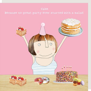 cadeauxwells - Salad - Rosie Made a Thing - Greetings Cards