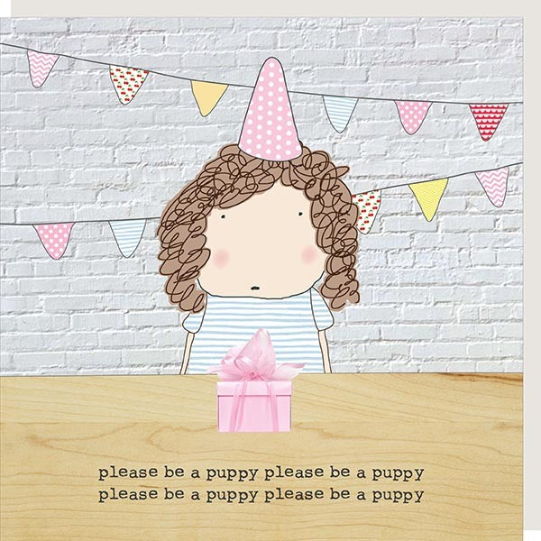 cadeauxwells - Puppy - Rosie Made a Thing - Greetings Cards