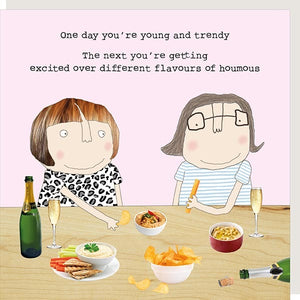 cadeauxwells - Houmous - Rosie Made a Thing - Greetings Cards