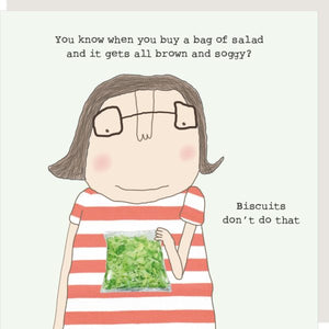 cadeauxwells - Soggy Salad - Rosie Made a Thing - Greetings Cards