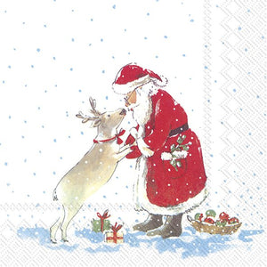 Lunch Napkins – Santa's Best Friend