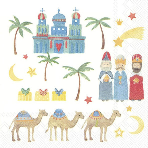 Lunch Napkins – The Three Kings