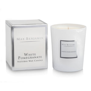 cadeauxwells - Scented Candle - White Pomegranate - Max Benjamin - Candles