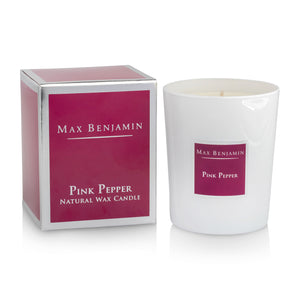 cadeauxwells - Scented Candle - Pink Pepper - Max Benjamin - Candles