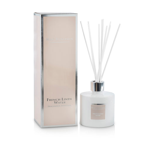 cadeauxwells - Fragrance Diffuser - French Linen Water - Max Benjamin - Candles