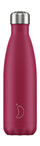 cadeauxwells - 500ml Chilly's Bottle - Matte Pink - Chilly's Bottles - Homewares