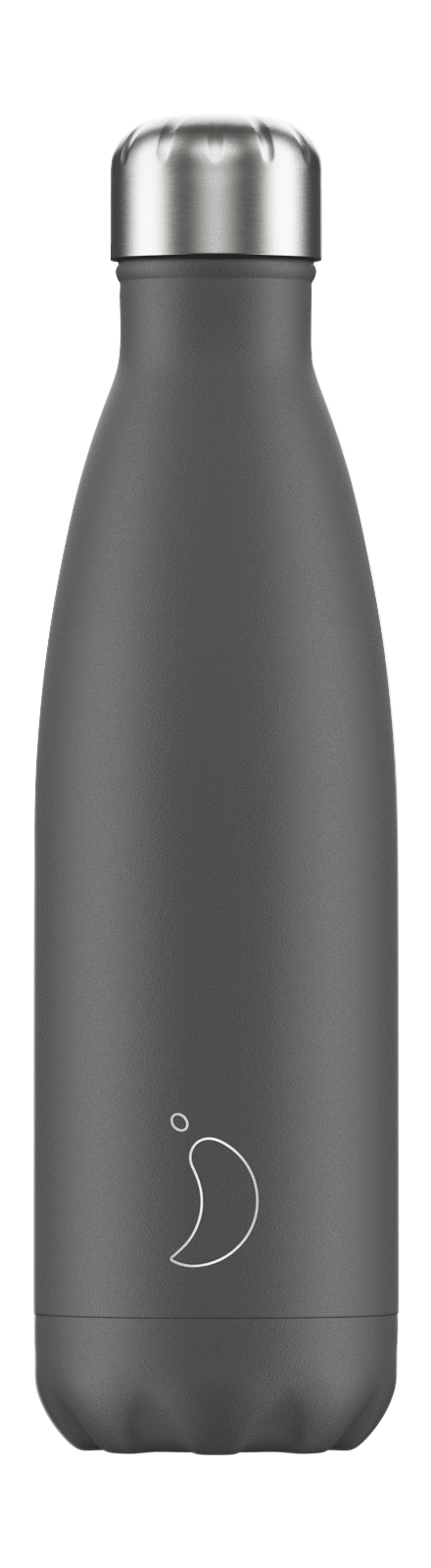 cadeauxwells - 500ml Chilly's Bottle - Monochrome Grey - Chilly's Bottles - Homewares