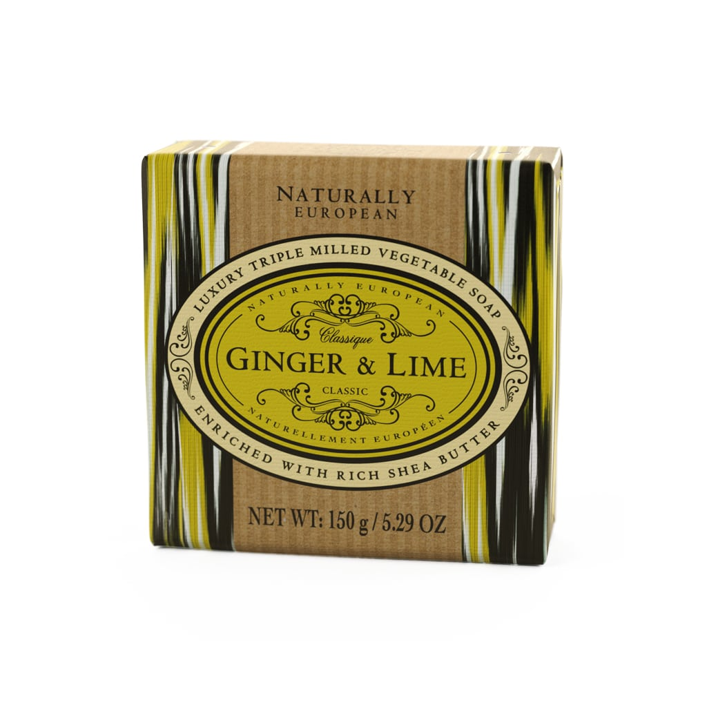 cadeauxwells - Naturally European Ginger & Lime Soap - The Somerset Toiletry Company - Perfumery