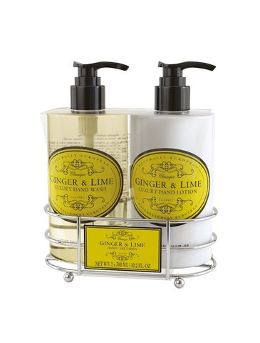 cadeauxwells - Naturally European Ginger & Lime Hand Care Caddy - The Somerset Toiletry Company - Perfumery
