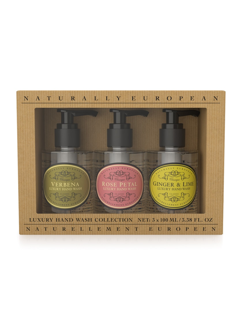 cadeauxwells - Naturally European Mini Hand Wash Collection - The Somerset Toiletry Company - Perfumery