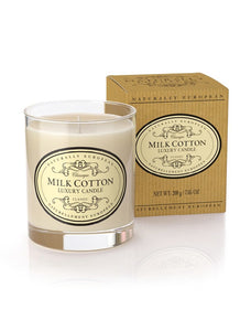 cadeauxwells - Naturally European Milk Candle - The Somerset Toiletry Company - Perfumery