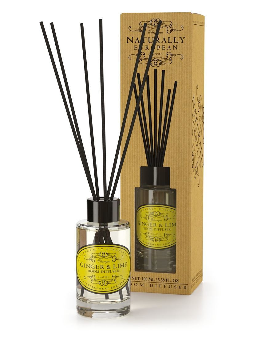 cadeauxwells - Naturally European Ginger & Lime Room Diffuser - The Somerset Toiletry Company - Perfumery
