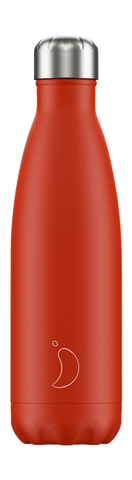 cadeauxwells - 500ml Chilly's Bottle - Neon Red - Chilly's Bottles - Homewares