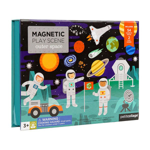 cadeauxwells - Magnetic Play Set - Outer Space - Wild and Wolf - Childrens