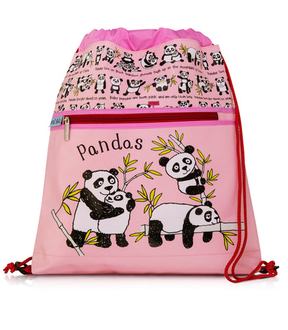 cadeauxwells - Pandas Kit Bag - Tyrrell Katz - Childrens