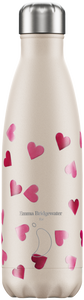 cadeauxwells - 500ml Chilly's Bottle - Emma Bridgewater Hearts - Chilly's Bottles - Homewares