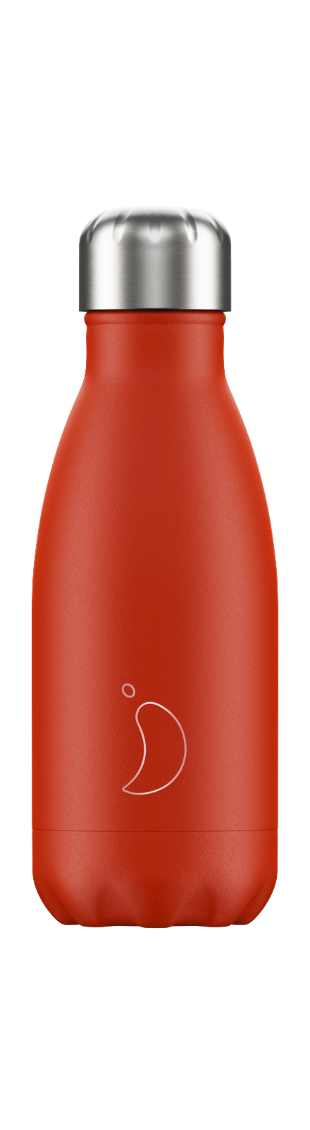 cadeauxwells - 260ml Chilly's Bottles - Neon Red - Chilly's Bottles - Homewares