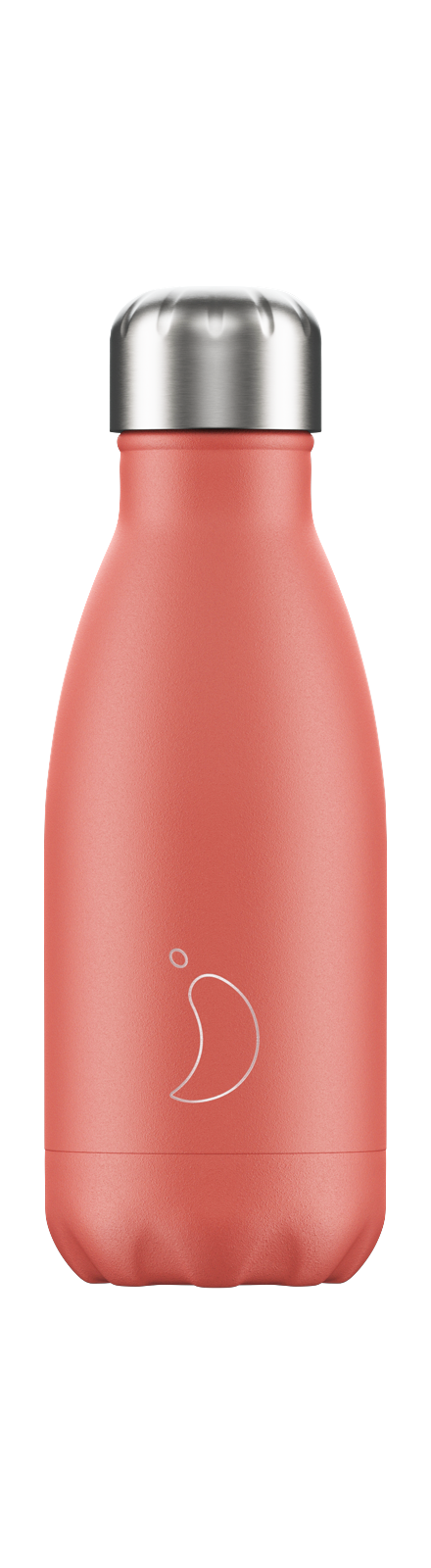 cadeauxwells - 260ml Chilly's Bottles - Pastel Coral - Chilly's Bottles - Homewares