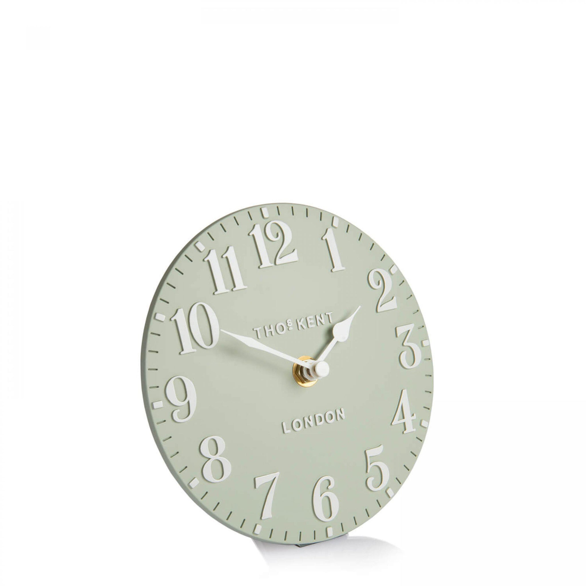 "cadeauxwells - 6"" Arabic Mantel Clock Hedgerow - Art Marketing - Homewares"