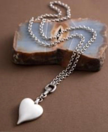 Classic Heart Crystal Necklace by Danon