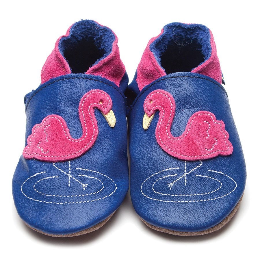 Inch Blue Baby Shoes - Flamingo Cobalt
