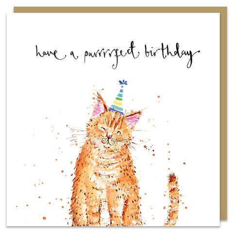 Have a Purrrfect Birthday