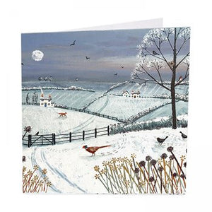 Winter's Eve - Pack of 6 Christmas Cards