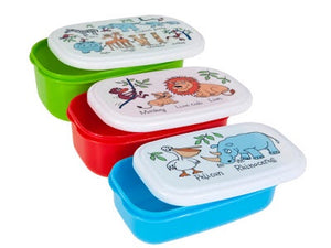 cadeauxwells - Set of 3 Snack Boxes - Jungle - Tyrrell Katz - Childrens